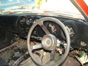 Flocked Nissan 270z Dashboard
