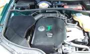 Flocked VW Passat engine cover